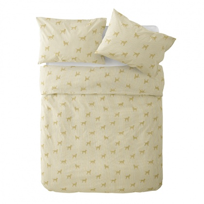 Labrador Bedding Cream: click to enlarge
