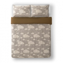Rainy Day Bed Linen Grey