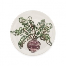 Side Plate Beetroot