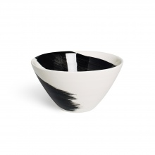 Swish Charcoal Cereal Bowl