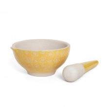 Pestle & Mortar Lace Yellow