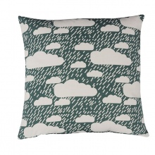 Rainy Day Cushion Green
