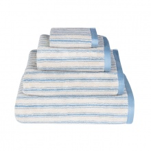 Stripe Towels Blue